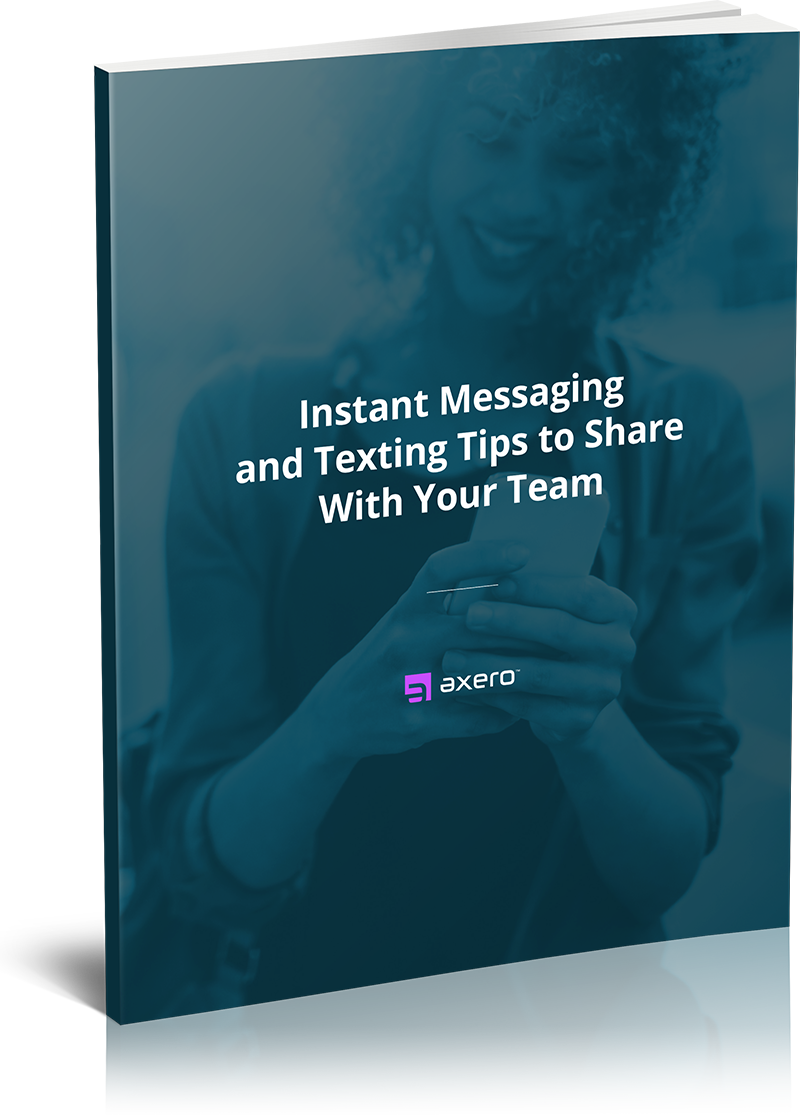 Instant Messaging And Texting : Instant messaging and texting tips to share with your team
